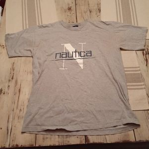 Vintage Nautica Spell Out Tee